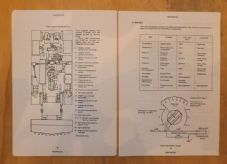 Combat engineer tractor.FV180.CET.Electrical systems.
